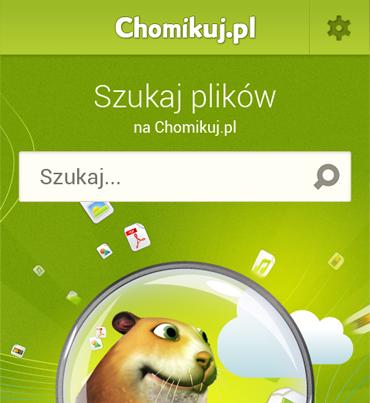 Pobieraj pliki z Chomikuj.pl na swoją komórkę!